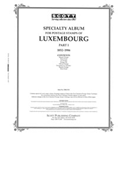 LUXEMBOURG 1852-1986 (99 PAGES)