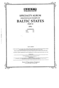 BALTIC STATES 1991-1998 (57 PAGES)