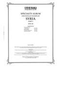 SYRIA 1919-1958  (60 PAGES)