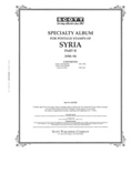 SYRIA 1958-1994 (120 PAGES)
