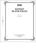 Scott Kuwait Blank Pages
