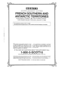 FRENCH SOUTH & ANTARCTIC TERRITORIES 1997 (3 PAGES) #3