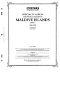 MALDIVE ISLANDS 1906-1975 (72 PAGES)