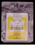 ScottMount 40x27 Stamp Mounts - Black