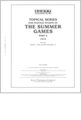 OLYMPIC SUMMER GAMES TOPICAL 1972  (125 PAGES)