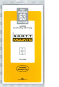 ScottMount 63x240 Stamp Mounts - Black
