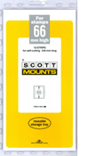 ScottMount 66x240 Stamp Mounts - Clear