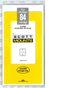 ScottMount 84x240 Stamp Mounts - Clear