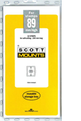 ScottMount 89x240 Stamp Mounts - Black