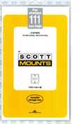 ScottMount 111x265 Stamp Mounts - Clear