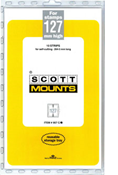 ScottMount 127x265 Stamp Mounts - Clear