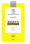 ScottMount 175x265 Stamp Mounts - Black
