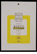 ScottMount 204x153 Stamp Mounts - Clear