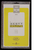 ScottMount 160x200 Stamp Mounts - Clear