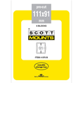 ScottMount 111x91 Stamp Mounts - Black