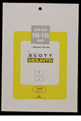 ScottMount 148x196 Stamp Mounts - Black