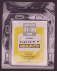 ScottMount 51x36 Stamp Mounts - Clear