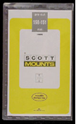 ScottMount 198x151 Stamp Mounts - Black