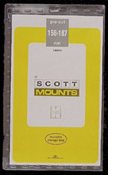 ScottMount 156x187 Stamp Mounts - Clear