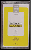 ScottMount 151x192 Stamp Mounts - Black