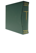 Scott Specialty Green 3-Ring Binder and Slipcase