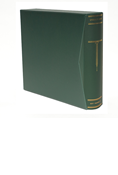 Scott Specialty Green 2-Square Post Binder & Slipcase