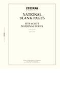 Scott National Blank Pages
