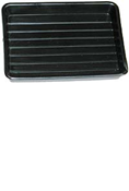 Ridged Bottom Watermark Tray