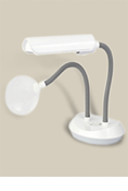 13-WATT DUOFLEX MAGNIFIER DESK LAMP