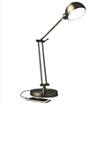 OttLite Refine LED Desk Lamp - Antique Brass