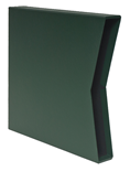 Scott Specialty Green 3-Ring Binder Slipcase - Small