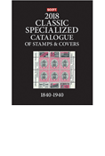 2018 Scott Classic Specialized Catalogue of Stamps and Covers 1840-1940