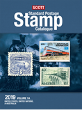 2019 Scott Standard Postage Stamp Catalogue - Vol. 1 (US & A-B)
