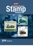 2019 Scott Standard Postage Stamp Catalogue - Vol. 4 (J-M)