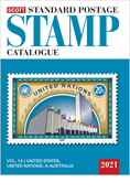 2021 Scott Standard Postage Stamp Catalogue - Volume 1 (US & A-B)