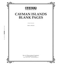 Scott Cayman Islands Blank Pages