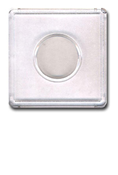 Snap-Tight 2x2 Plastic Holder - Nickel