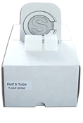 CoinSafe Square Coin Tube - Half Dollar / 31mm (Box of 100)