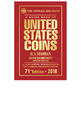 THE OFFICIAL RED BOOK OF U.S. COINS 2018 - HARD COVER