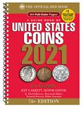 2021 Official Red Book of U.S. Coins - Spiral Bound