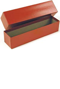 Coin World 2x2 Storage Box - Red