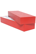2x2 Double Row Storage Box - Red