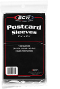 BCW Cover Sleeve - Post Card (100-Pack)