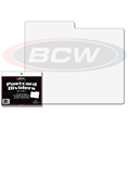 BCW Post Card Dividers