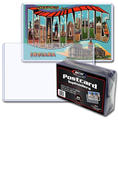 BCW Topload Post Card Holder