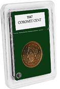 Coin World Premier Holder - 27.5mm / Coronet Cent (3-Pack)