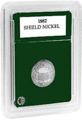 Coin World Premier Holder - 20.5mm / Shield Nickel (3-Pack)