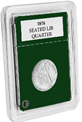 Coin World Premier Holder - 24mm / Quarters (3-Pack)