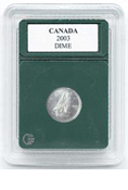 Coin World Premier Holder - 18.1mm / Canada Dime (3-Pack)