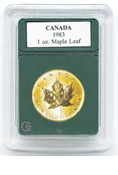Coin World Premier Holder - 30.1mm / 1 oz. Gold Maple Leaf (3-Pack)